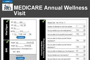 Annual Wellness Visit Template by Medicare Annual Wellness Visit Templates Screening Forms
