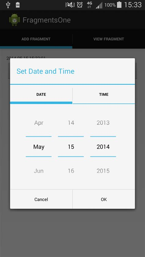 android date picker the continuous improvement project creating custom date and time picker in android