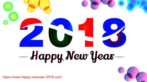 happy new year 2018 wallpaper and cards new year 2018