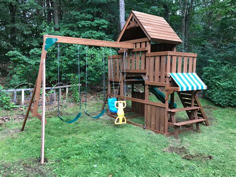 swing n slide winchester playset assembler swing set installer in natick ma