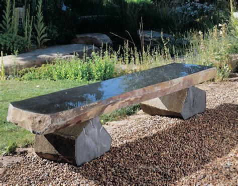 how to make a stone bench basalt bench stone forest