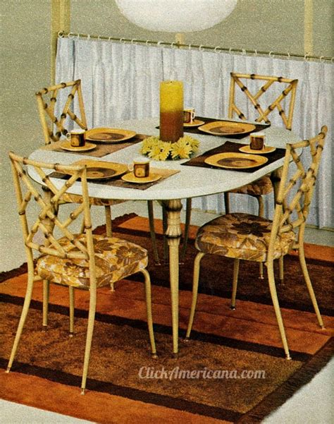 daystrom table and chairs dinettes dining tables from daystrom 1972 click
