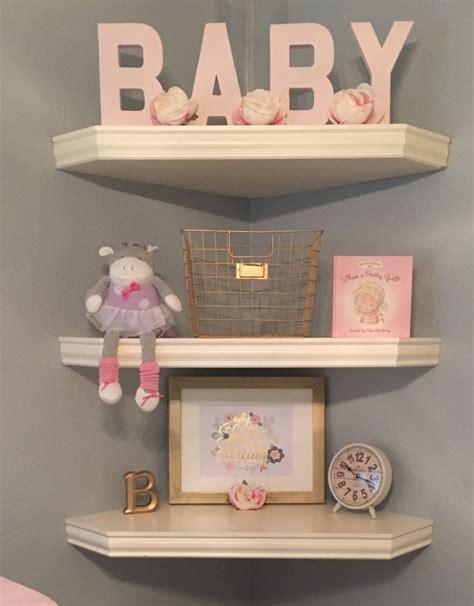 toddler room shelves blair s blushing nursery project nursery