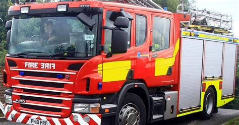 Fire crews rescue five year old boy from blaze at home in