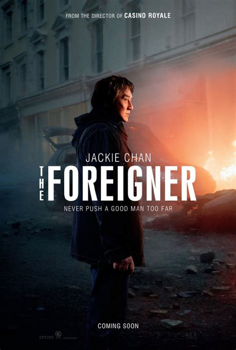 a look at pierce brosnan in the foreigner manlymovie first look james bond director pits jackie chan against