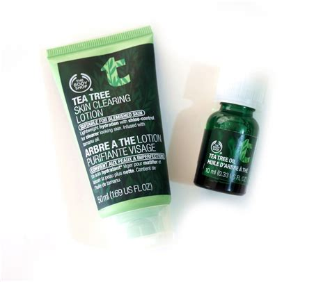 The Shop Tea Tree Trial Kit Mini Untuk Jerawat try this if you pimply skin the shop tea tree line project vanity