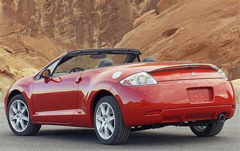mitsubishi convertible 2007 used 2007 mitsubishi eclipse spyder for sale pricing
