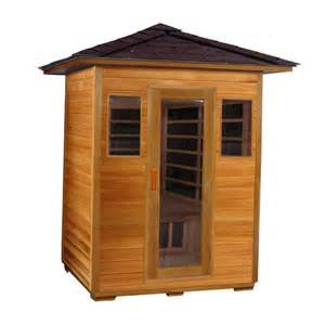 backyard sauna kit outdoor infrared kits superior saunas everything for