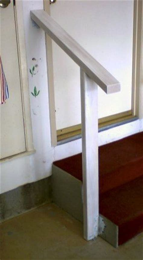 Small Stair Handrail Handrail For Garage Steps For The Home