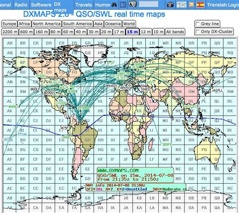 time maps dx sherlock qso real time maps and listings resource
