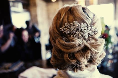 Wedding Hairstyles All Up by Real Wedding Chic Wedding Hairstyle All Up With