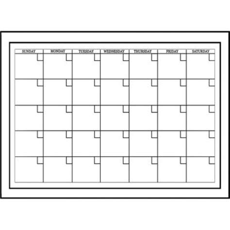 Wallpops 17 5 In X 24 In Dry Erase Monthly Calendar Wall