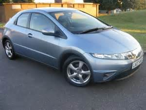 used blue honda civic 2007 diesel 2 2 i ctdi se 5dr
