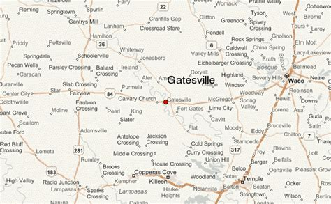 map of gatesville texas gatesville location guide