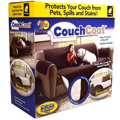 as seen on tv couch as seen on tv couch coat reversible cover