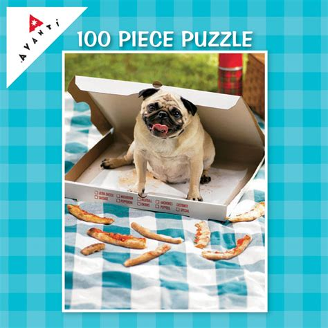 pug jigsaw puzzle mini pet puzzles pizza pug jigsaw puzzles and toys for