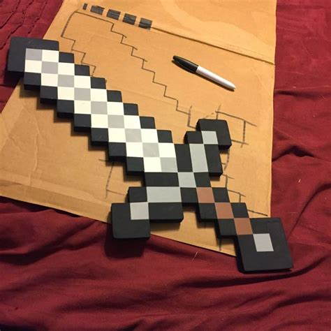How To Make A Paper Minecraft Sword - 25 best ideas about minecraft activities on