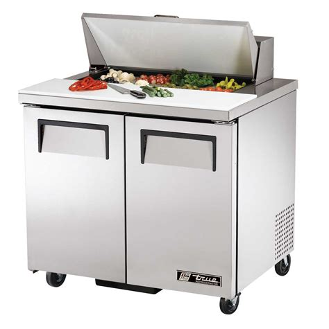 true tssu 36 8 36 quot refrigerated sandwich salad prep table
