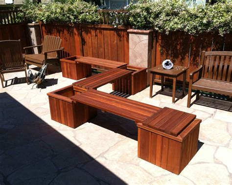 redwood patio set patio design ideas