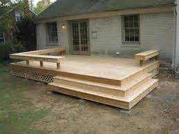 corner deck bench deck with bench and corner stairs diy for the home pinterest decks stairs and