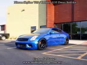 Nissan G35 Skyline Midnight Garage Bodykit Centre Nissan Skyline V35