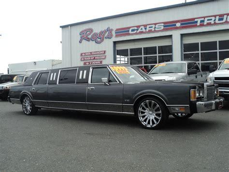town car limousine 1989 lincoln town car limousine