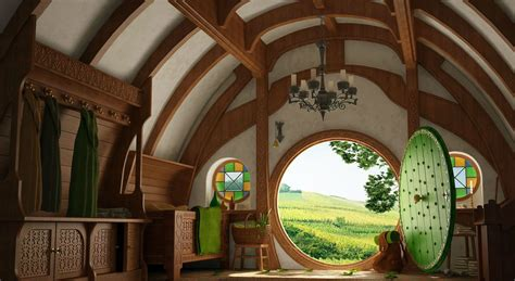 hobbit houses the magic of a hobbit house