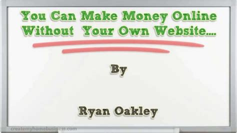 How To Make Money Online Without A Website For Free - can you make money 2015 best auto reviews