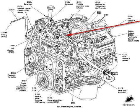diesel fuel diagram ford 6 0 powerstroke engine diagram wiring diagram with