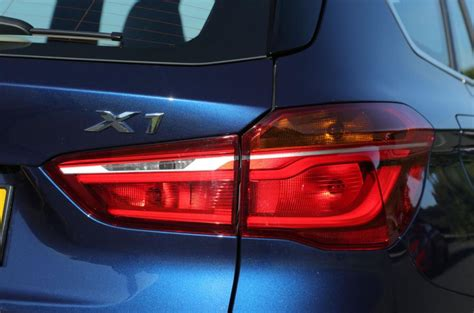 bmw x1 tail light cover bmw x1 verdict autocar