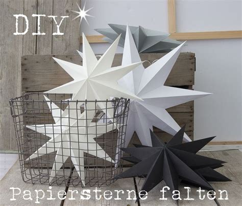 Anleitung Papiersterne Falten by 10 Ideen Zu Sterne Falten Auf Origami