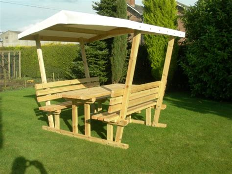 covered bench covered picnic table pub bench