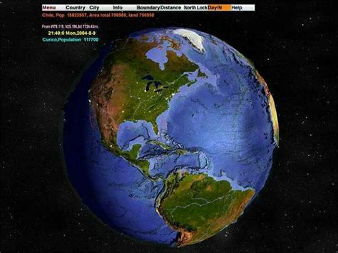 3d earth map 3d world map 2 1 screensavers and wallpaper
