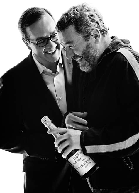 philip starck philippe starck louis roederer unveil cuv 233 e brut nature 2006