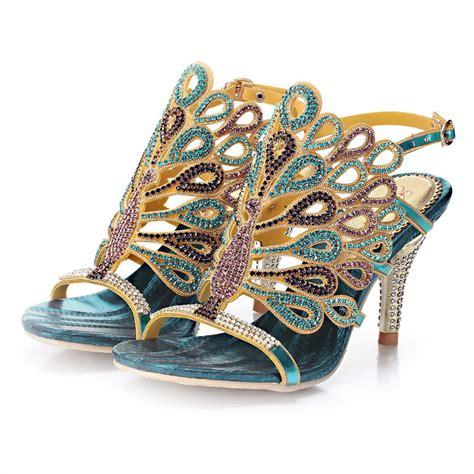 big heels sandals princess thin heels sandals rhinestone
