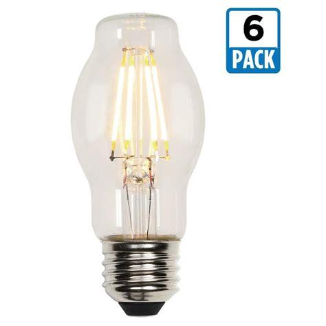 Led Light Bulb Pack Westinghouse 40w Equivalent Soft White Bt15 Dimmable Filament Led Light Bulb 6 Pack 3316720