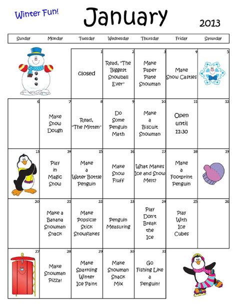 kindergarten activities january 159 best images about daycare lesson planning on pinterest