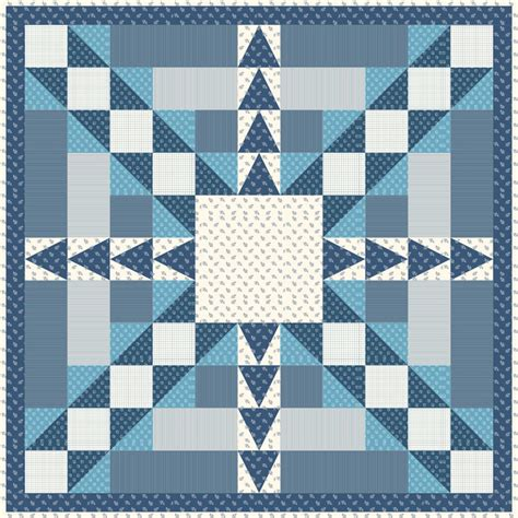 Blue Moon Quilt Pattern by Blue As The Moon Quilt Pattern Av 171 Advanced Beginner