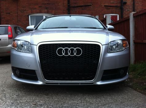 2006 audi a4 grill how to fit an rs6 grille on a b7 a4 s4 or rs4 all mesh