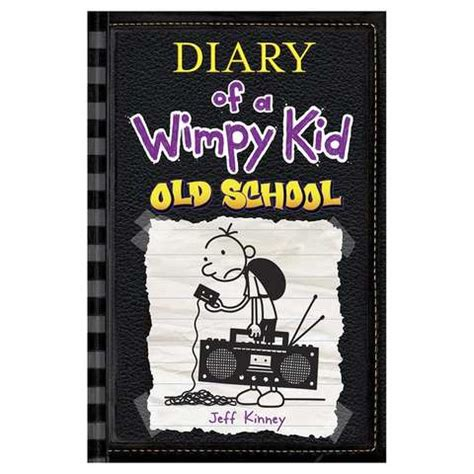 printable diary of a wimpy kid books diary of a wimpy kid old school by jeff kinney book kmart