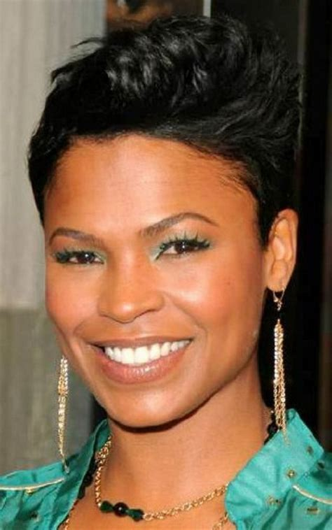 how to spike a short cut short spikey hairstyles for black women