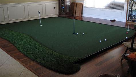 custom indoor putting greens