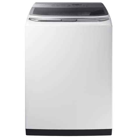 Samsung Washer Samsung 5 2 Cu Ft High Efficiency Top Load Washer With Activewash In White Energy