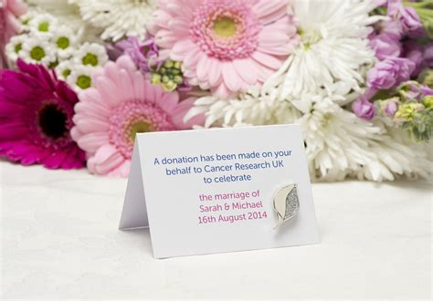 Wedding Favors Uk by Wedding Favours Created Exclusively For Cancer Research Uk