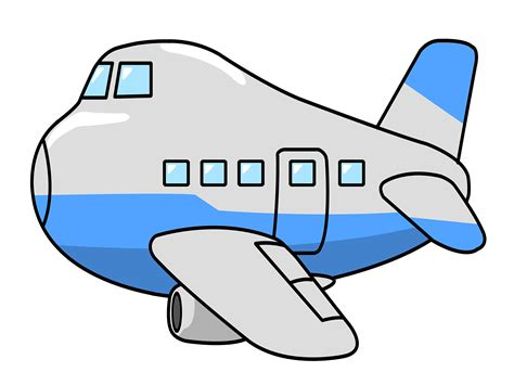 Clipart Of Plane free jumbo airplane clip