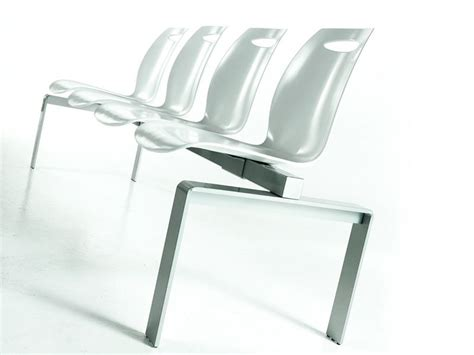 chaise longue plural bip bench colico bench for waiting room or office