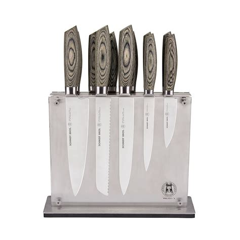 Kitchen Knives Set Reviews by Schmidt Brothers Ash 12 Piece Cutlery Set Bloomingdale S