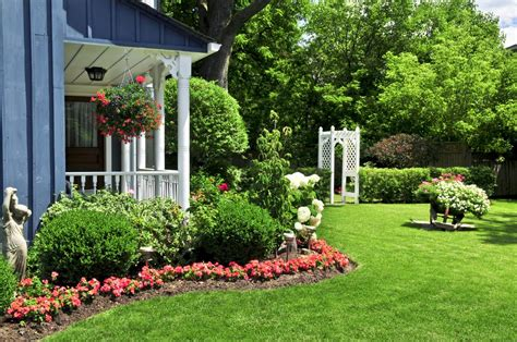 front porch garden ideas