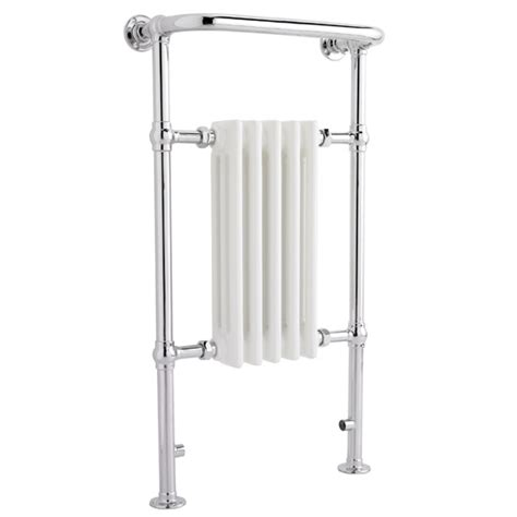 traditional heated towel rails for bathrooms traditional small harrow heated towel rail chrome at
