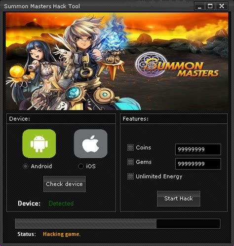 game mod tool ios summon masters hack 2018 download